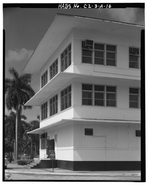 Fort Amador, Administration Building, Rear Admiral Nimitz Circle, Panama City, Former Panama Canal Zone, CZ