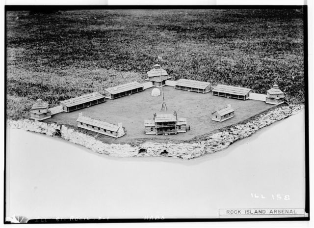 Fort Armstrong, Rock Island, Rock Island County, IL