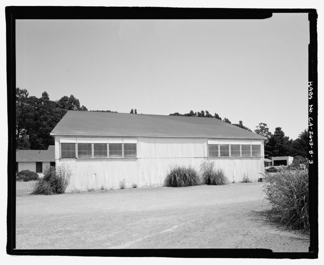Fort Baker, Building No. 689, Breitung Road, in main cantonment, at eastern terminus, Sausalito, Marin County, CA
