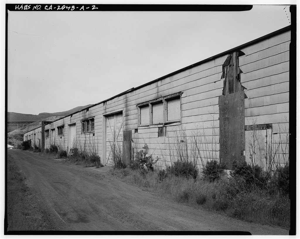 Fort Baker, Storehouse, Near intersection of Breitung & Satterlee Roads, Sausalito, Marin County, CA