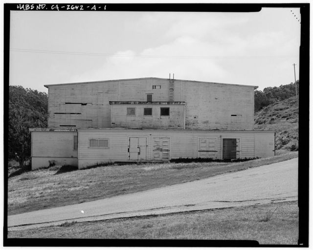 Fort Barry, Theater, Fort Barry, Rosenstock Road, Sausalito, Marin County, CA