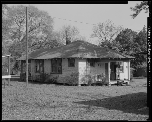 Fort Benning, Building No. 296, Hunt Club, Marne Road, Fort Benning Military Reservation, Chattahoochee County, GA