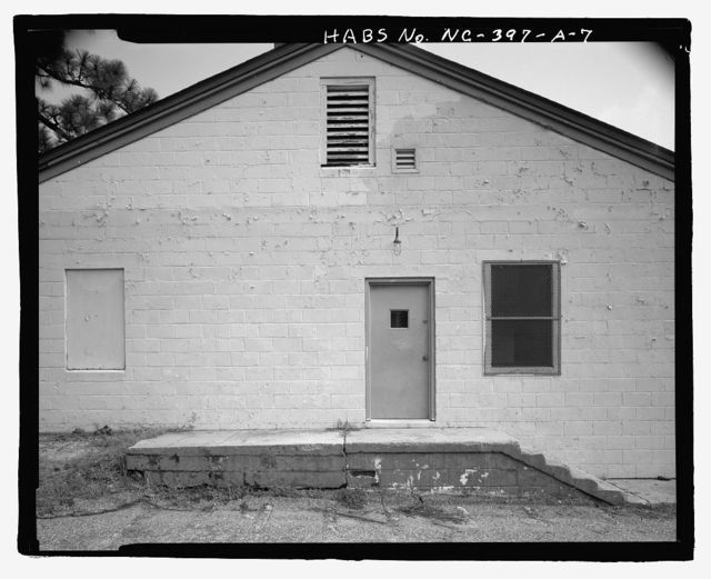 Fort Bragg, Noncommissioned Officers' Service Club, Service Club Building, South of Butner Road, Fayetteville, Cumberland County, NC