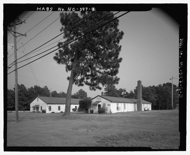 Fort Bragg, Noncommissioned Officers' Service Club, South of Butner Road, Fayetteville, Cumberland County, NC