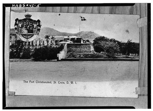 Fort Christiansvaern, Company Street vicinity, Christiansted, St. Croix, VI