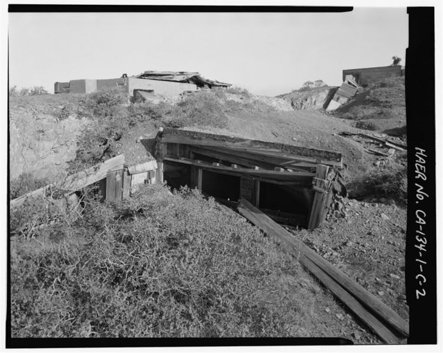 Fort Cronkhite, Anti-Aircraft Battery No. 1, Battery Offices, Wolf Ridge, Sausalito, Marin County, CA