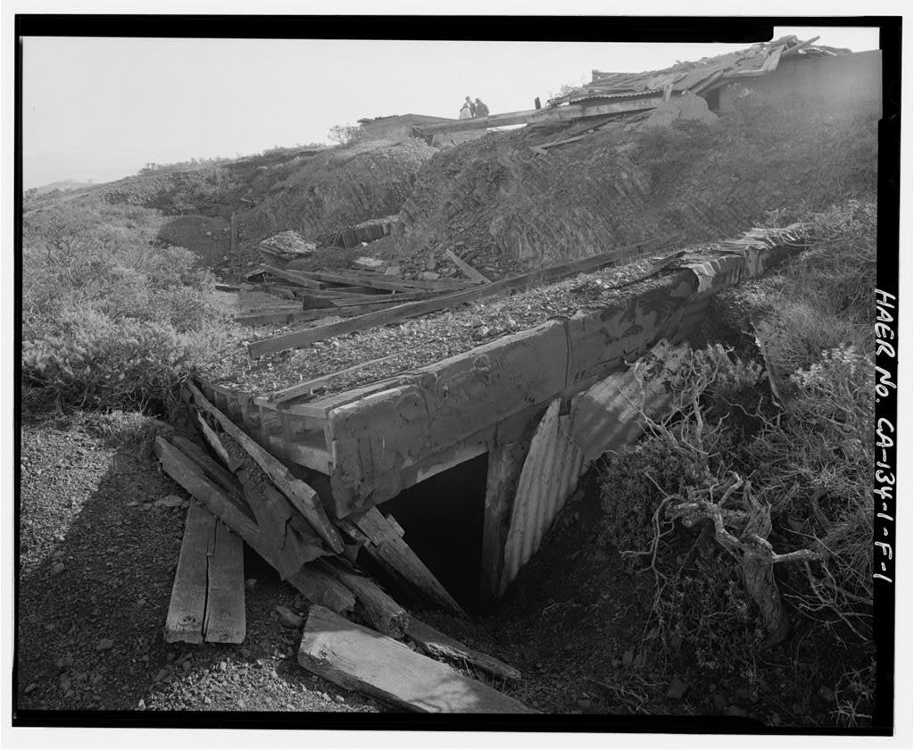 Fort Cronkhite, Anti-Aircraft Battery No. 1, Day Room-Mess Hall, Wolf Ridge, Sausalito, Marin County, CA