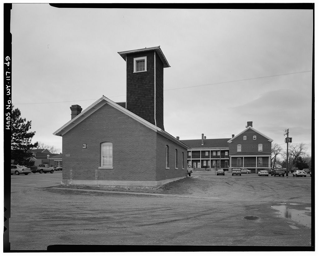 Fort David A. Russell, Randall Avenue west of First Street, Cheyenne, Laramie County, WY