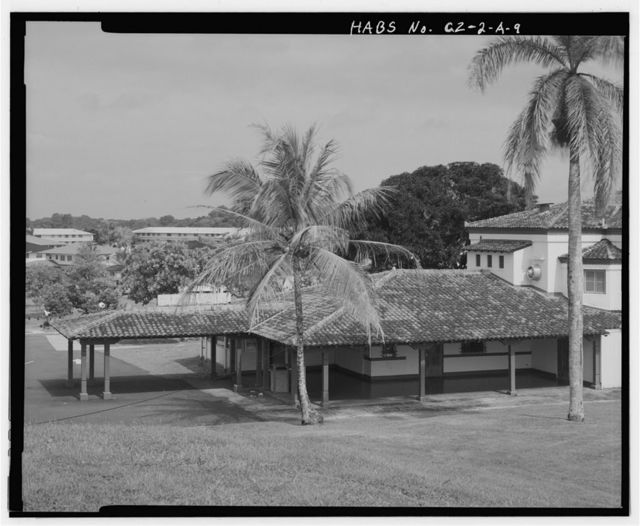 Fort Davis, Theater, Clem Road, Colon, Former Panama Canal Zone, CZ