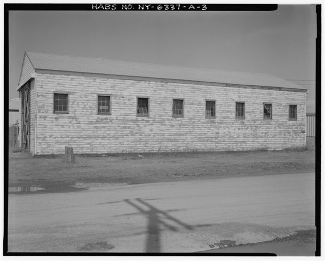 Fort Drum, Ordnance Warehouse, Northwest corner of Railroad Street & Ordnance Road, Watertown, Jefferson County, NY
