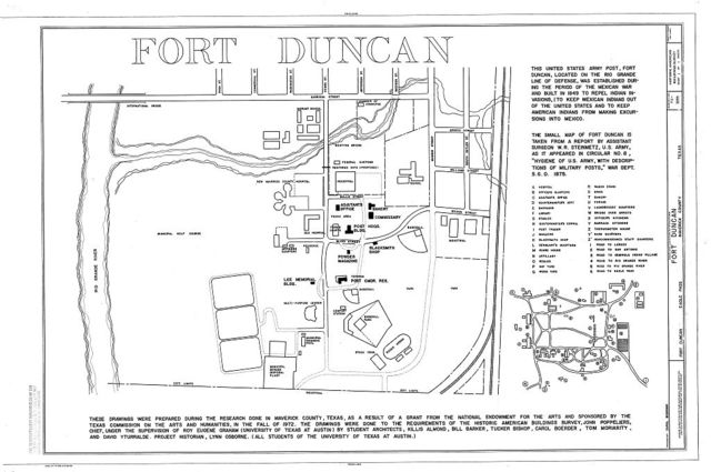 Fort Duncan, Eagle Pass, Maverick County, TX