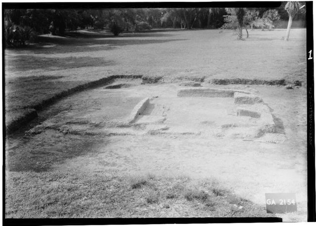 Fort Frederica, John Levally House (Ruins), Lot No. 9, South Ward, Saint Simons Island, Glynn County, GA