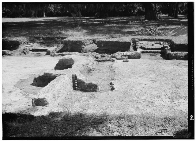 Fort Frederica, Welch House (Ruins), Lot No. 5, South Ward, Saint Simons Island, Glynn County, GA