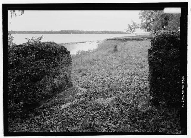 Fort Frederick, Fort Frederick Boat Landing, Port Royal, Beaufort County, SC