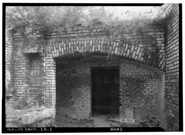 Fort Gaines, Smithy, Dauphin Island, Mobile County, AL