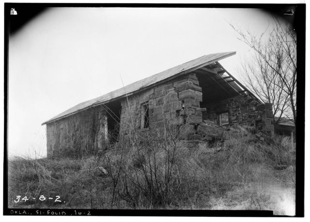 Fort Gibson, Blacksmith Shop, Garrison Avenue, Fort Gibson, Muskogee County, OK