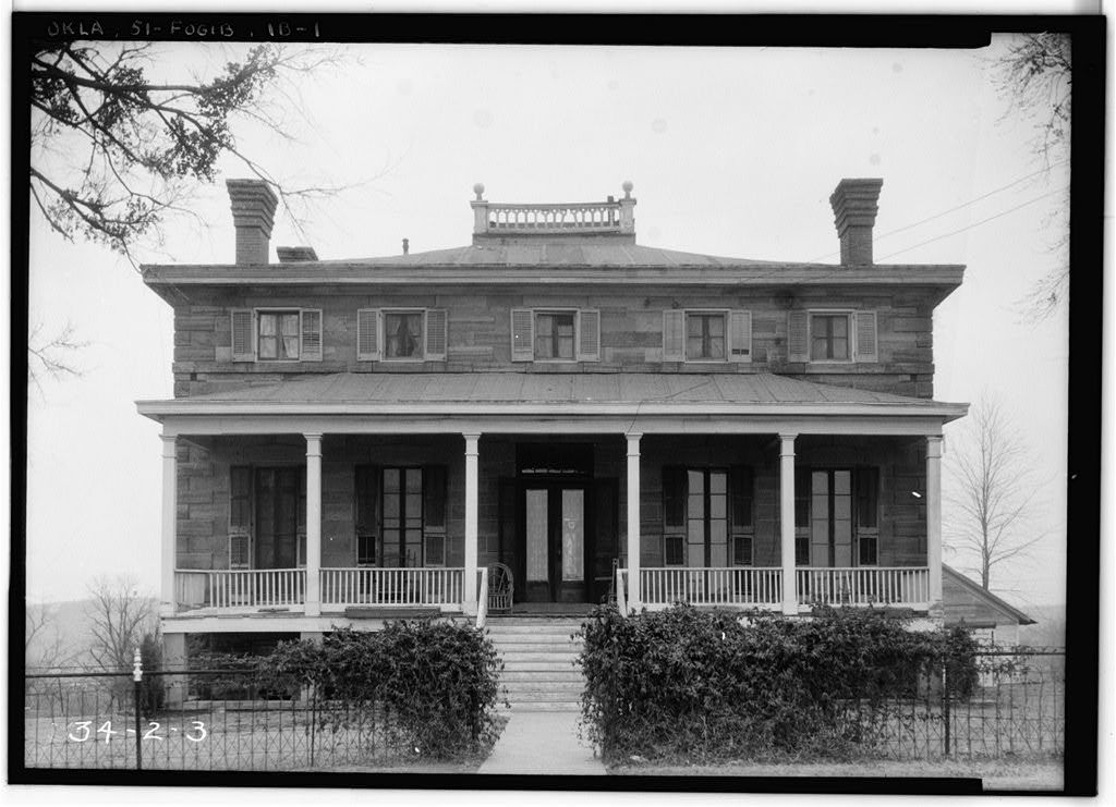 Fort Gibson, Commanding Officer's Quarters, Coppinger Avenue, Fort Gibson, Muskogee County, OK