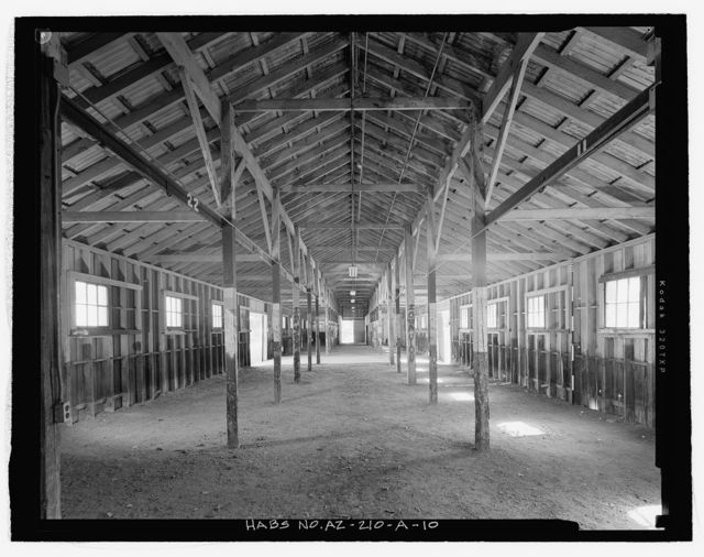 Fort Huachuca, Cavalry Stable, Clarkson Road, Sierra Vista, Cochise County, AZ