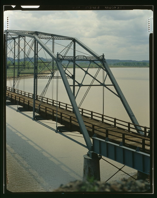 Fort Keogh Bridge, Spanning Yellowstone River, Miles City, Custer County, MT