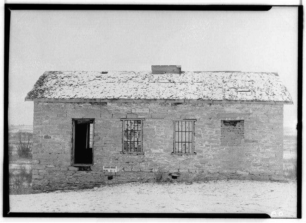 Fort Laramie, Old Guard House, Fort Laramie, Goshen County, WY