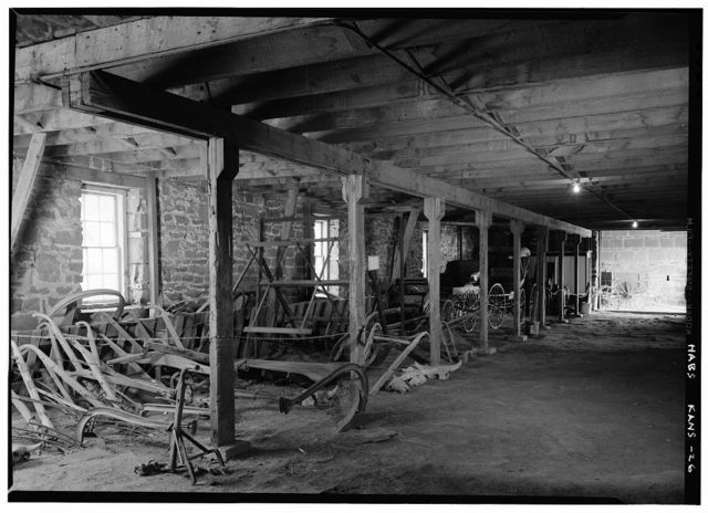 Fort Larned, Quartermaster Storehouse, Larned, Pawnee County, KS