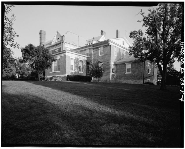 Fort Leavenworth, Building No. 1, 1 Scott Avenue, Leavenworth, Leavenworth County, KS