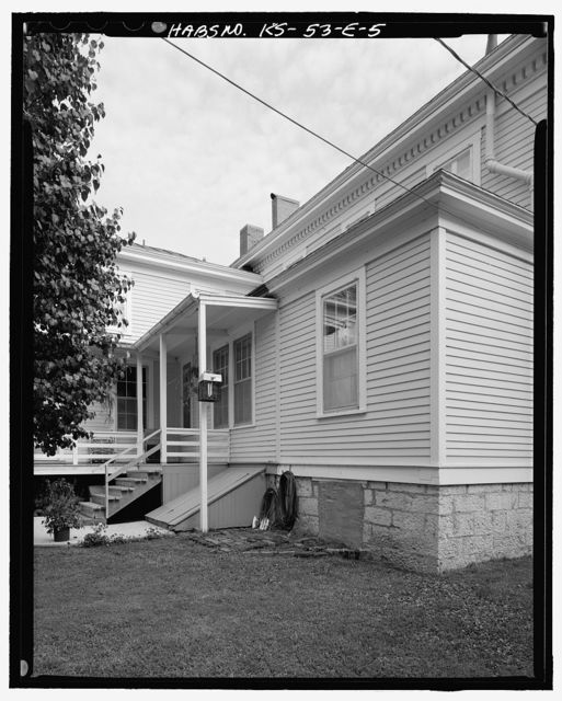 Fort Leavenworth, Building No. 16, 24 Sumner Place, Leavenworth, Leavenworth County, KS