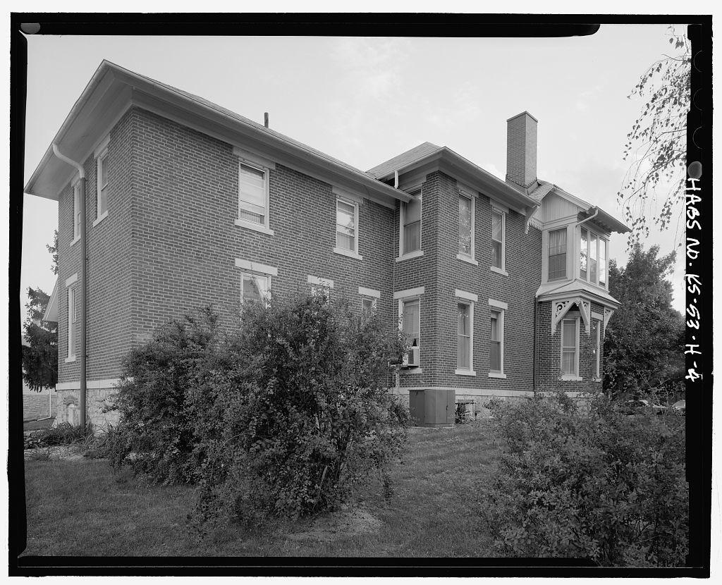 Fort Leavenworth, Building No. 6, 624 Scott Avenue, Leavenworth, Leavenworth County, KS