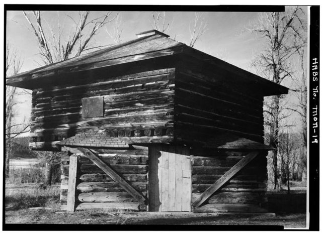 Fort Logan, Blockhouse, White Sulphur Springs, Meagher County, MT