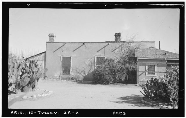 Fort Lowell, Officers' Quarters, Fort Lowell Road Vicinity, Tucson, Pima County, AZ