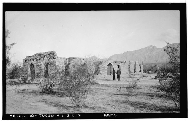 Fort Lowell, Post Hospital (Ruins), Fort Lowell Road Vicinity, Tucson, Pima County, AZ