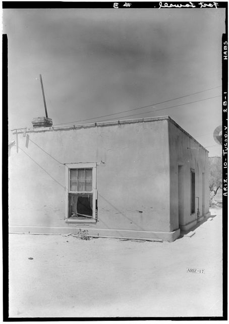Fort Lowell, Summer Kitchen, Fort Lowell Road Vicinity, Tucson, Pima County, AZ