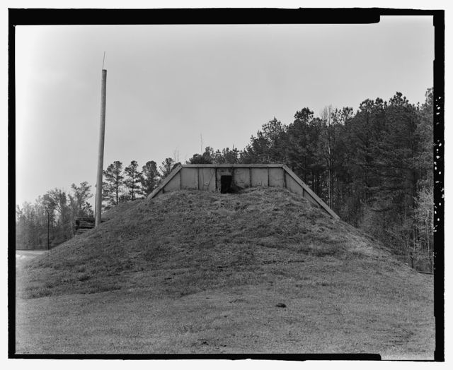 Fort McClellan Ammunition Storage Area, Building No. 4408, Second Avenue (Magazine Road), Anniston, Calhoun County, AL