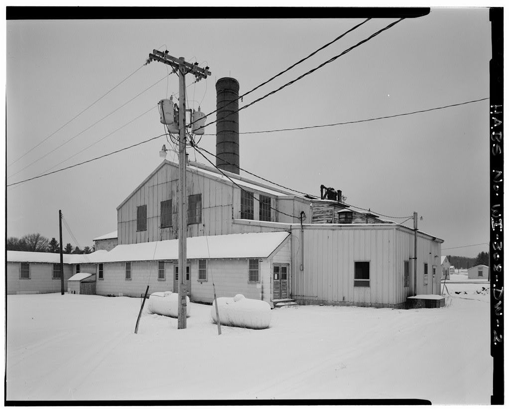 Fort McCoy, Building No. T-10111, Southeast of Auxiliary Boiler House, Block 10, Sparta, Monroe County, WI