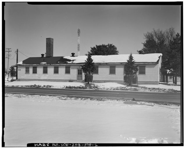 Fort McCoy, Building No. T-1559, Northeast Corner of Intersection of South Eleventh Avenue & South Headquarters Avenue, Sparta, Monroe County, WI