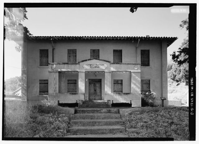 Fort McDowell, Administration Building, Angel Island State Park, Angel Island, Marin County, CA