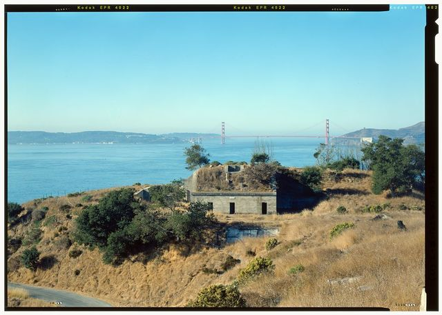Fort McDowell, Battery Drew, Angel Island State Park, Angel Island, Marin County, CA