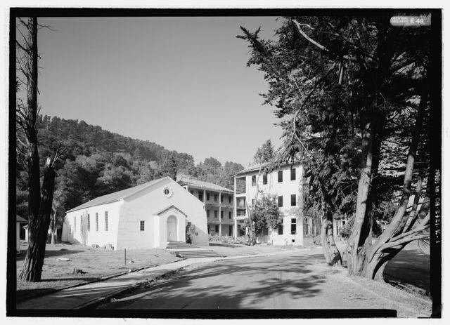 Fort McDowell, Chapel, Angel Island State Park, Angel Island, Marin County, CA