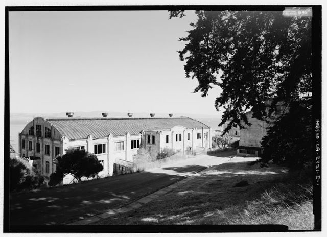 Fort McDowell, Mess & Drill Hall, Angel Island State Park, Angel Island, Marin County, CA
