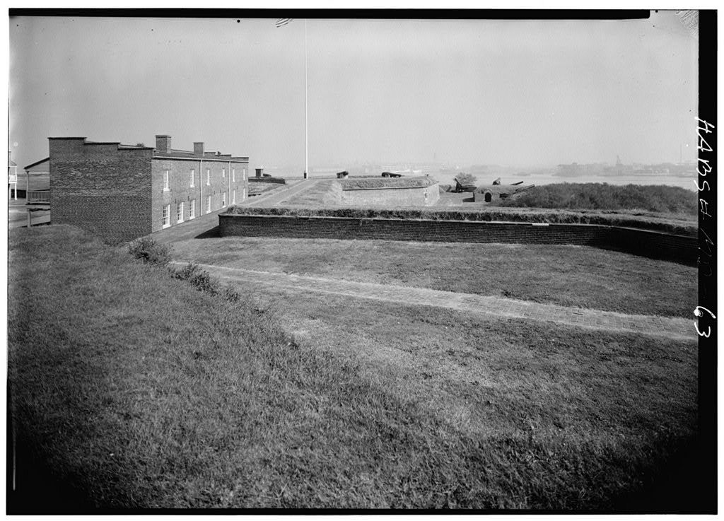 Fort McHenry National Monument & Historic Shrine, East Fort Avenue at Whetstone Point, Baltimore, Independent City, MD