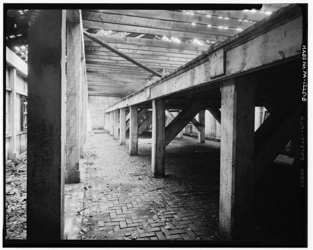 Fort Mifflin, Artillery Shed, Mud Island, Marine & Penrose Ferry Roads, Philadelphia, Philadelphia County, PA