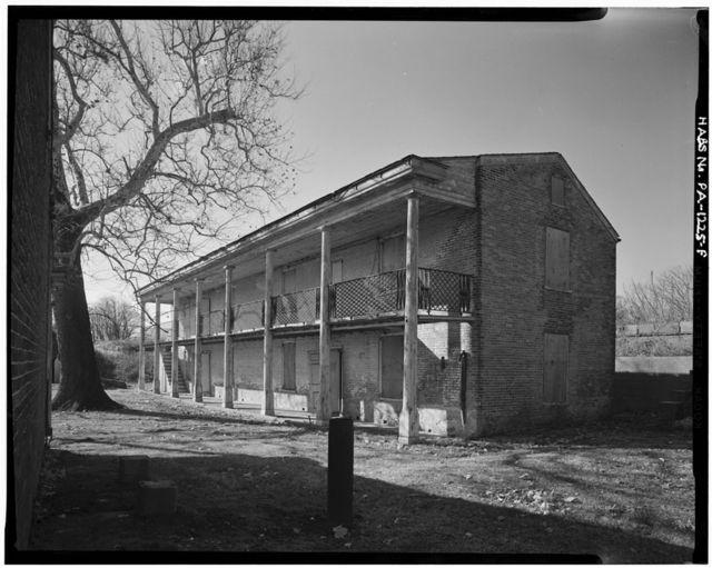 Fort Mifflin, Officers' Quarters, Mud Island, Marine & Penrose Ferry Roads, Philadelphia, Philadelphia County, PA