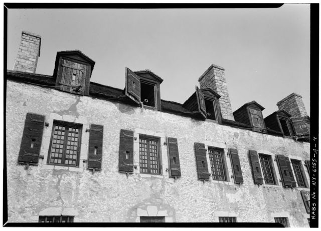 Fort Niagara, French Castle, Fort Niagara State Park, Youngstown, Niagara County, NY