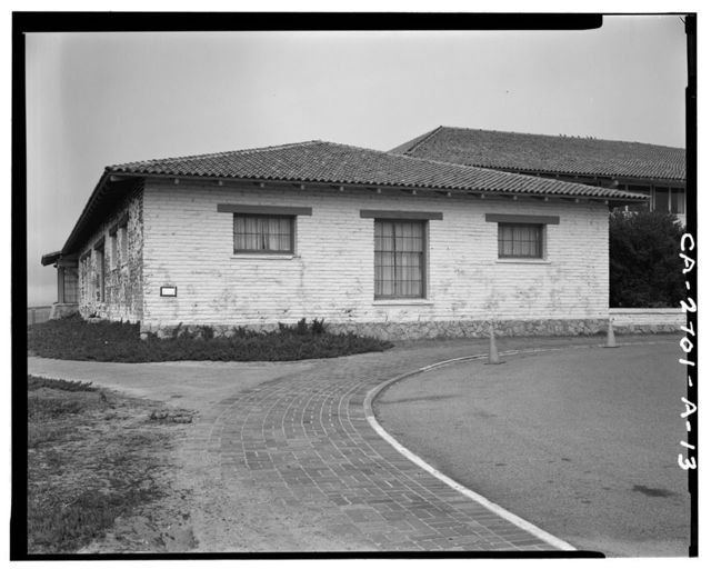 Fort Ord, Soldiers' Club, California State Highway 1 near Eighth Street, Seaside, Monterey County, CA
