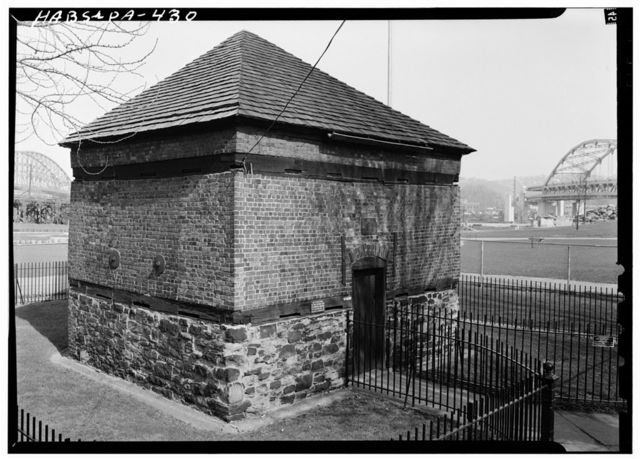 Fort Pitt Blockhouse, 25 Penn Avenue, Point State Historic Park, Pittsburgh, Allegheny County, PA