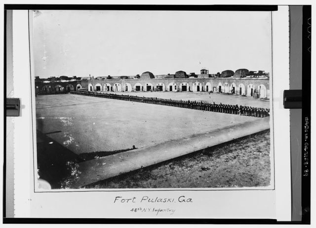 Fort Pulaski, Cockspur Island, Savannah, Chatham County, GA