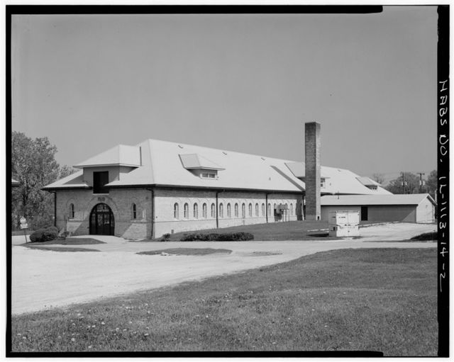 Fort Sheridan, Cavalry Stable, Thorpe & Chapman Roads, Lake Forest, Lake County, IL