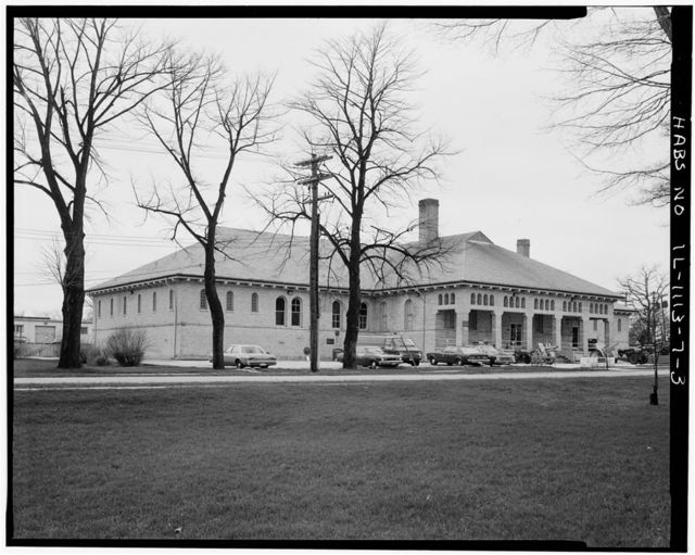 Fort Sheridan, Guardhouse, Lyster Road, Lake Forest, Lake County, IL