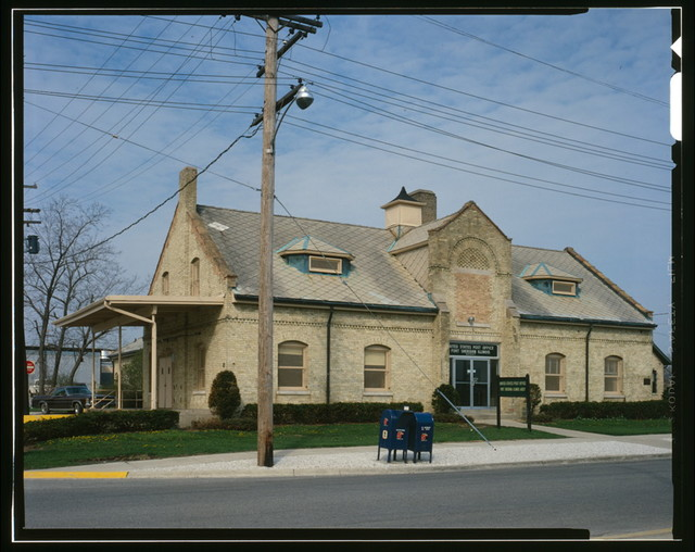 Fort Sheridan, Quartermaster Stable, Lyster Road, Lake Forest, Lake County, IL
