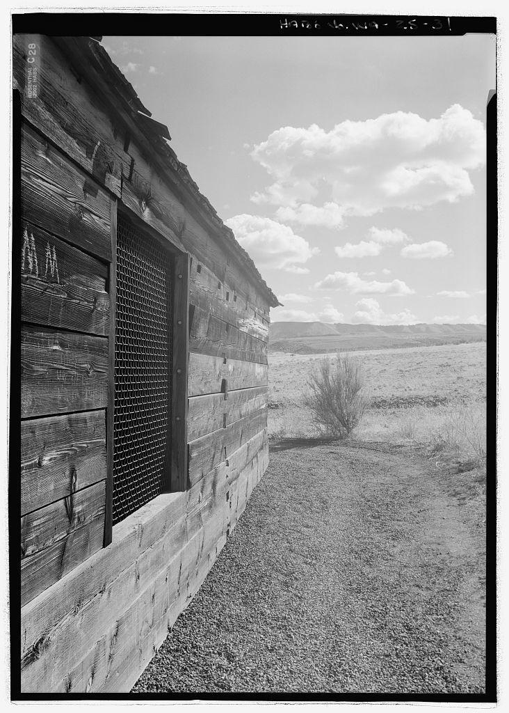 Fort Simcoe, Commandant's House & Blockhouse, Fort Simcoe Road, White Swan, Yakima County, WA